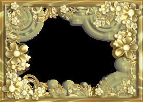 Рамка для золотая свадьба фото