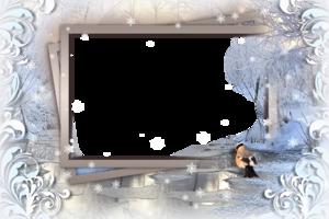 Рамка - Зимнее умиротворение