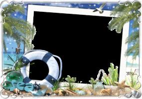 Рамка для фото - Морские сокровища