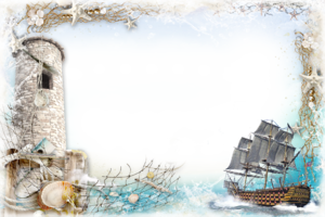 Рамка - В морской пучине