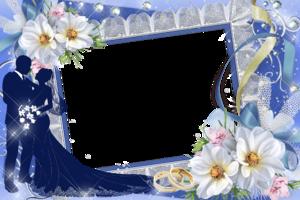 Рамки на свадебные фото