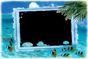 Рамка - Морское вдохновение