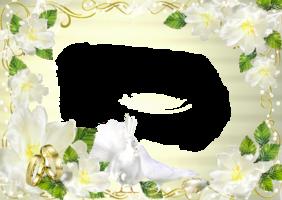 Фото рамки на фото свадебные