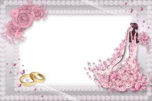 Рамка для фото на свадьбу