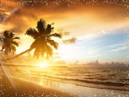 фотошоп онлайн на фоне заката