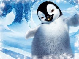 Фотоэффект детский – с пингвином
