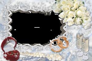 Свадебные фоторамки для фотошопа онлайн