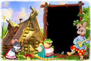 Сказочная рамка - Терем-теремок